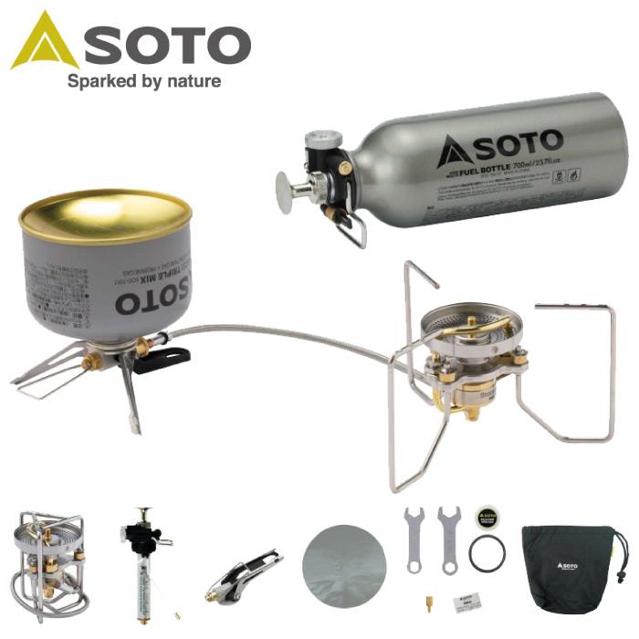 SOTO ソト 新富士バーナー ストームブレイカー シングルストーム ガソリン・ガス SOD-372