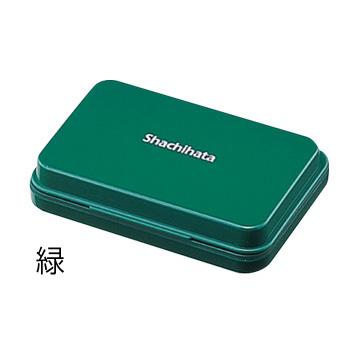 【Shachihata】シヤチハタ スタンプ台 小形盤面サイズ:63×40mm色種:黒・赤・藍色・緑・朱色・紫・空色・牡丹(ピンク)・茶色・黄色