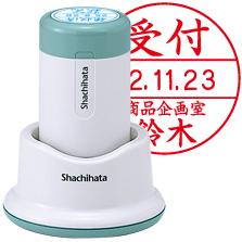シヤチハタデーターネーム30号 スタンド式 日付L印面サイズ:直径30mm【Shachihata】
