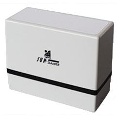 サンスタンパーW-TYPE(顔料系インク)印面サイズ32×67(mm)