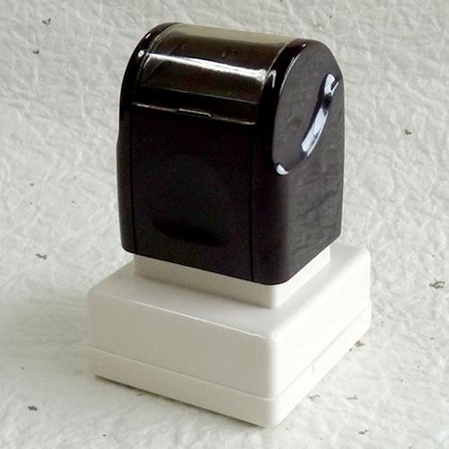オリジナル書体でのオーダーも可能。手書き・データ原稿でも作成致します。選べる7色のインキカラー! 30%OFF蔵書印・落款印としてのオーダーも可能スーパーパインスタンパーシヤチハタ式【角印】印面サイズ25×25mm