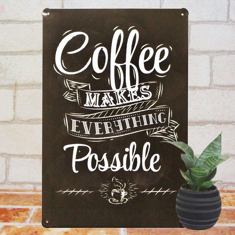 看板 カフェ