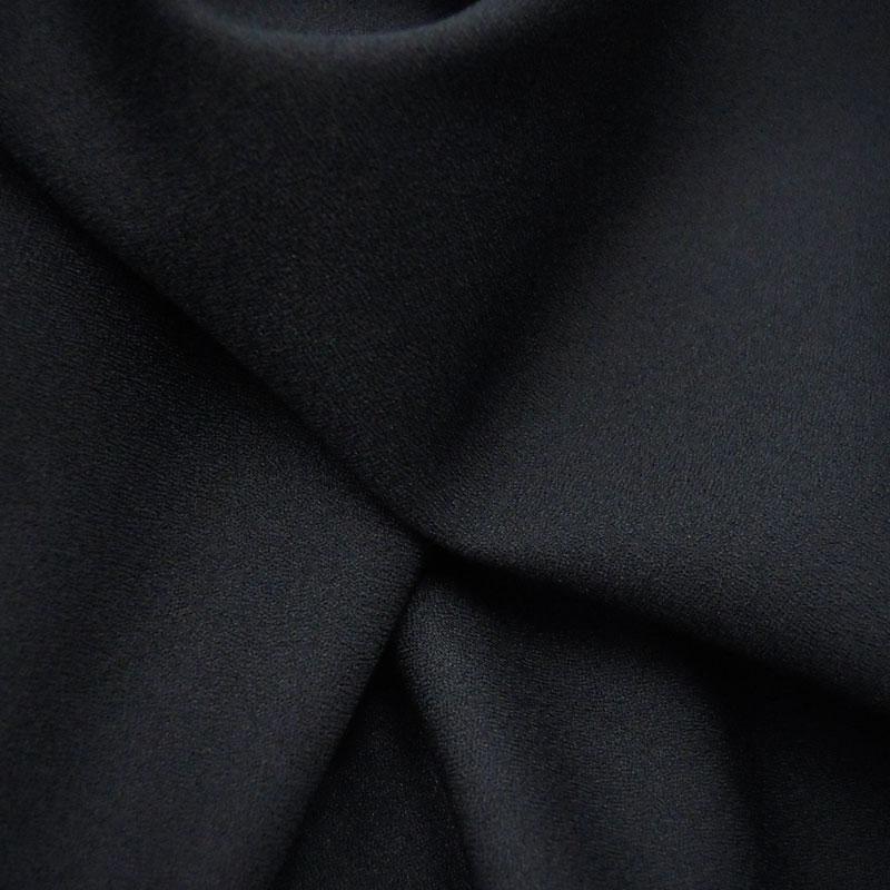 布地 生地 最新号掲載アイテム 2020新作 無地 カラー 黒 ポリエステルアムンゼン