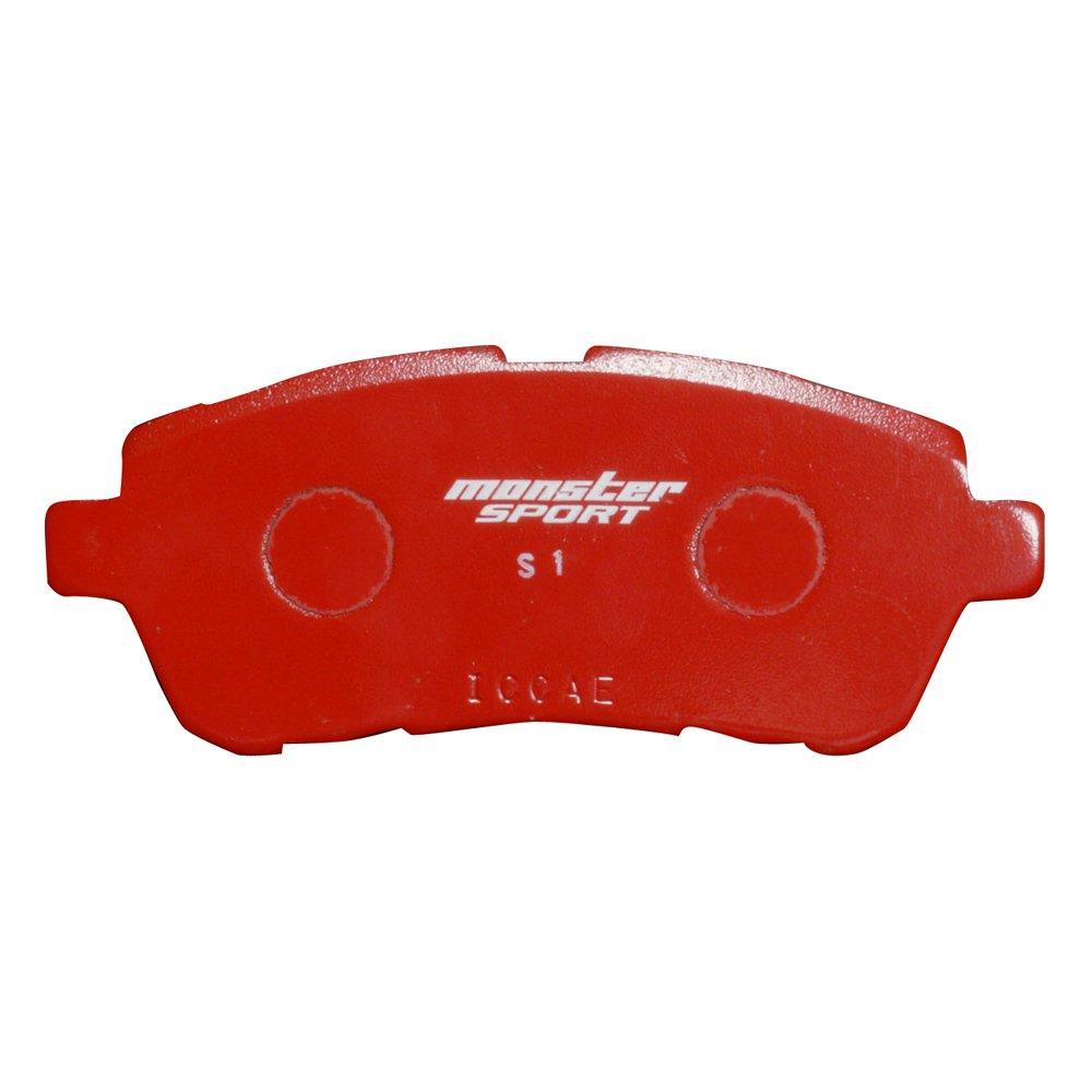 スイフトスポーツ[ZC33S/ZC32S]/スイフト[ZC13S/ZC43S/ZC43S/Z#83S]ブレーキパッド【モンスタースポーツ ブレーキパッド type-S1 フロント】