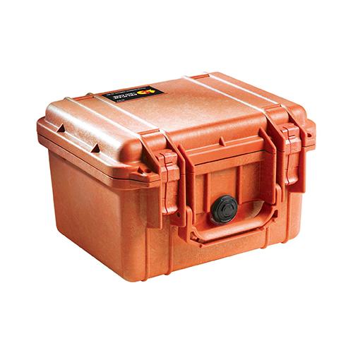 ペリカン 1300 ケース ORANGE [ノーフォーム]:防水耐衝撃ケース *在庫限り