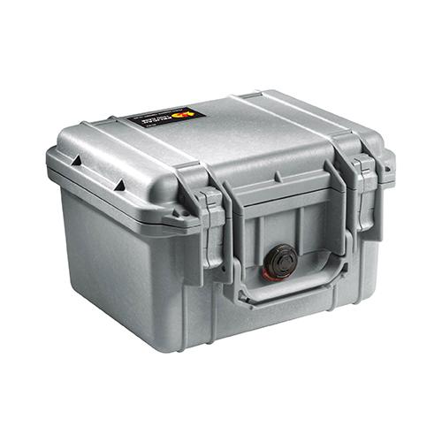ペリカン 1300 ケース SILVER [ノーフォーム]:防水耐衝撃ケース *在庫限り