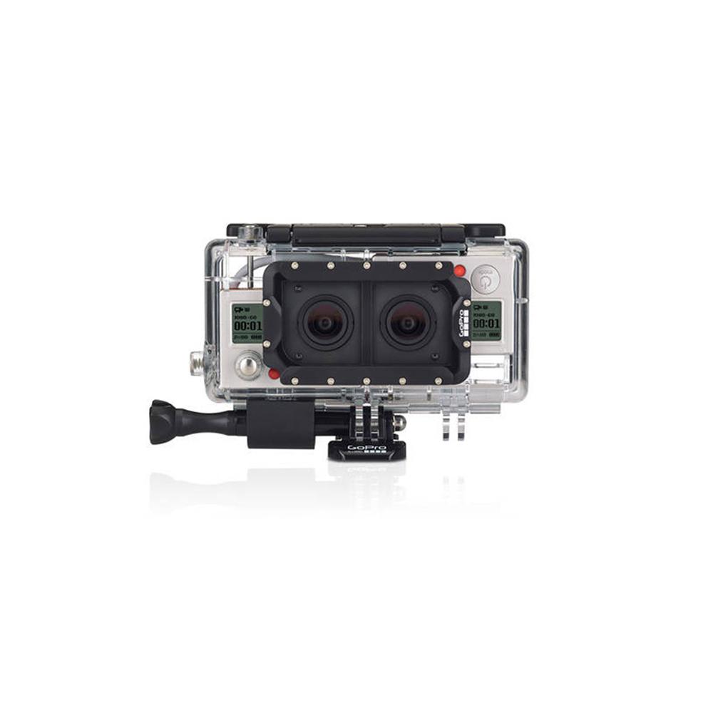 純正アクセサリー*2つのゴープロカメラを組合わせて、3D用の写真とビデオを簡単に撮影!【デュアルヒーローシステム(HERO3+ブラック専用)】【AHD3D-301】