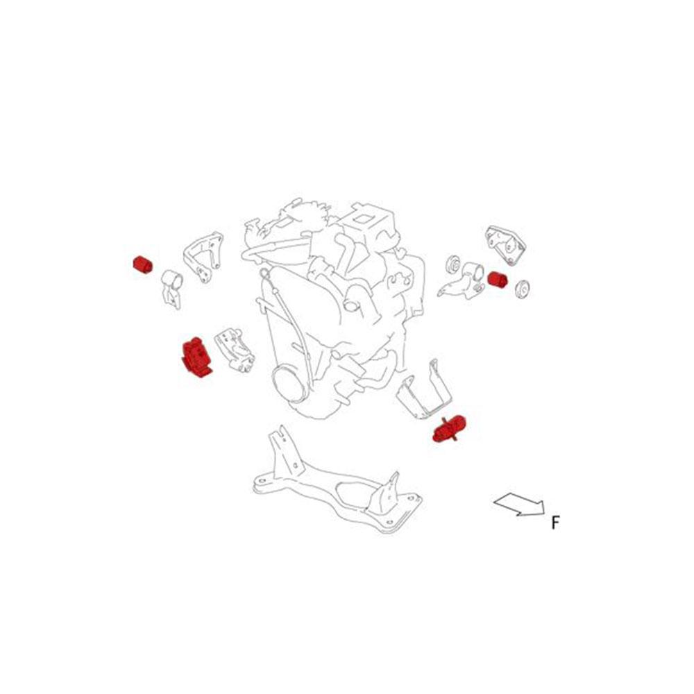 ブッシュ・マウント【エンジンマウント】キャラPG6SS【647500-2900M】