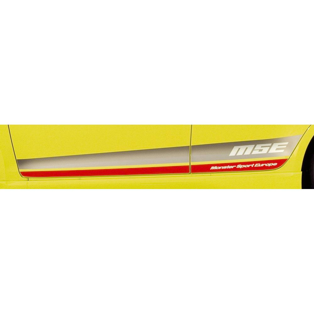 MONSTER SPORT EUROPE サイドデカール*Monster Sport*スイフトスポーツ(ZC32S)*モンスタースポーツ ステッカー (受注生産品) 【768500-4850M】
