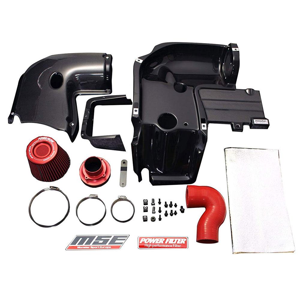 スイフトスポーツ エアクリーナー ボックス ZC32S 【スイフトスポーツ エアクリーナーボックス(ZC32S)MSEカーボンエアインダクションボックス モンスタースポーツ】