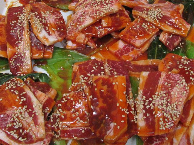 大麦牛味付カルピ焼肉 【100g】
