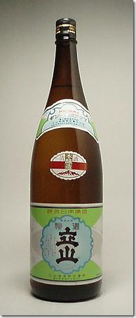 立山日本酒本酿造1.8L