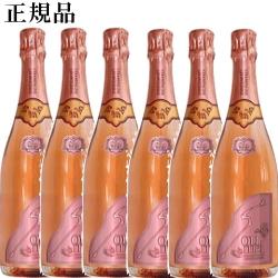 【正規品ソウメイシャンパン】Soumei『 ソウメイ ロゼ 750ml×6本セット 』ソーメイ シャンパン糖質カットなので沢山飲んでも太りにくい誕生日イベントのシャンパンタワーに開店 開業御祝 周年記念インスタ映え ラッキーシール 卍