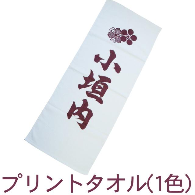 プリントタオル(1色/1ロット360枚) RTK413
