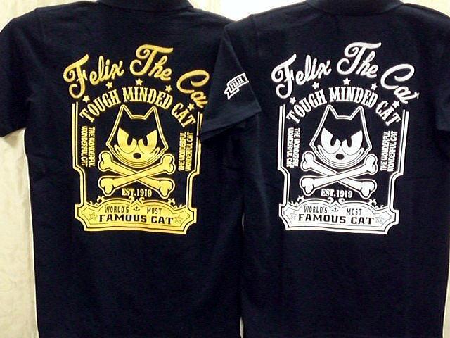 FELIX THE 絶品 CAT オンラインショップ 半袖ポロシャツ コンビニ受取対応商品