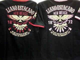 【ローブローナックル/LOW BLOW KNUCKLE】 インディアンフェザーリンガー半袖Tシャツ【コンビニ受取対応商品】