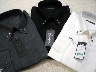 日本製  ジャガード ドレスシャツ 【楽ギフ_のし】