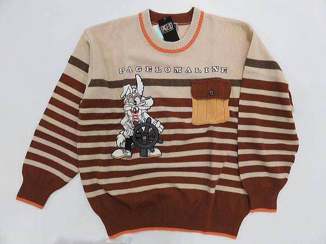 直輸入品激安 パジェロ セーター PAGELO 使い勝手の良い コンビニ受取対応商品