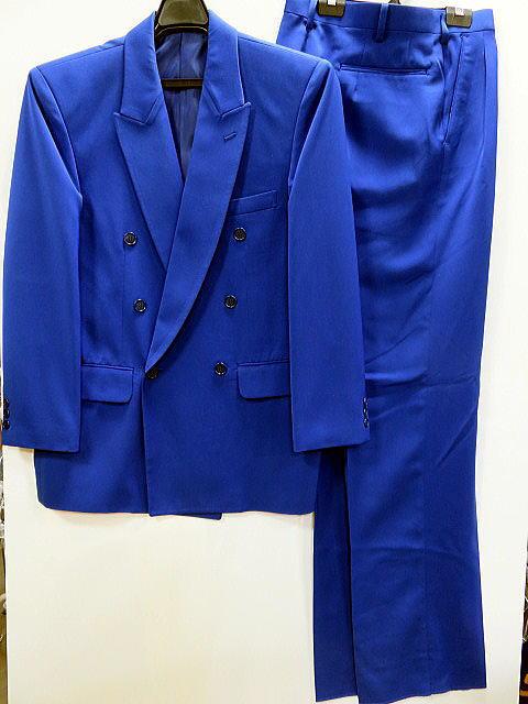 カラースーツ 青