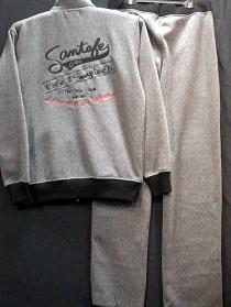【大きいサイズ】サンタフェ 長袖スエット上下 セットアップ santa fe【コンビニ受取対応商品】