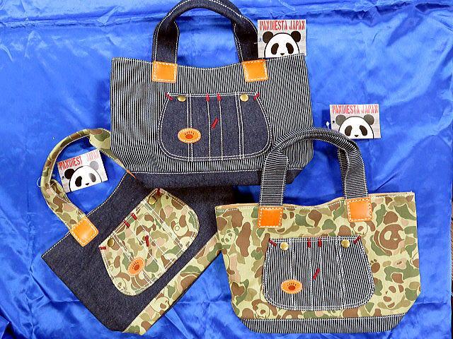 PANDIESTA JAPAN 熊猫謹製 ポケ付きミニトートバッグ パンディエスタ【コンビニ受取対応商品】