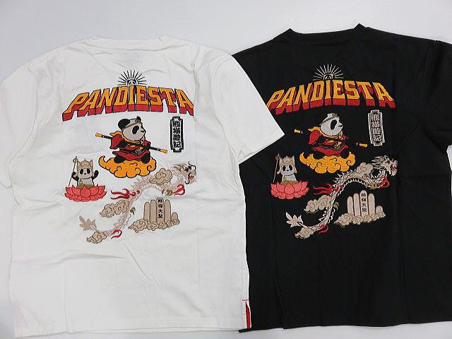 パンディエスタ PANDIESTA JAPAN 熊猫遊記パンダ 【コンビニ受取対応商品】 半袖Tシャツ