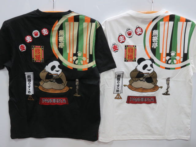 PANDIESTA JAPAN 半袖Tシャツ 熊笹亭落語  パンディエスタ
