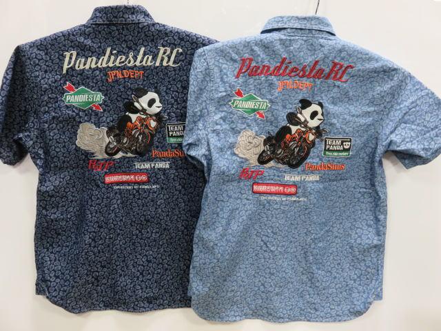 PANDIESTA JAPAN ワインディングパンダ 在庫一掃売り切りセール パンディエスタ 予約販売 ジャガードデニムシャツ