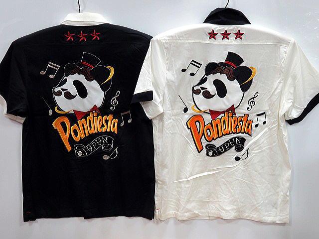 PANDIESTA JAPAN ジェントルパンダボーリングシャツ パンディエスタ