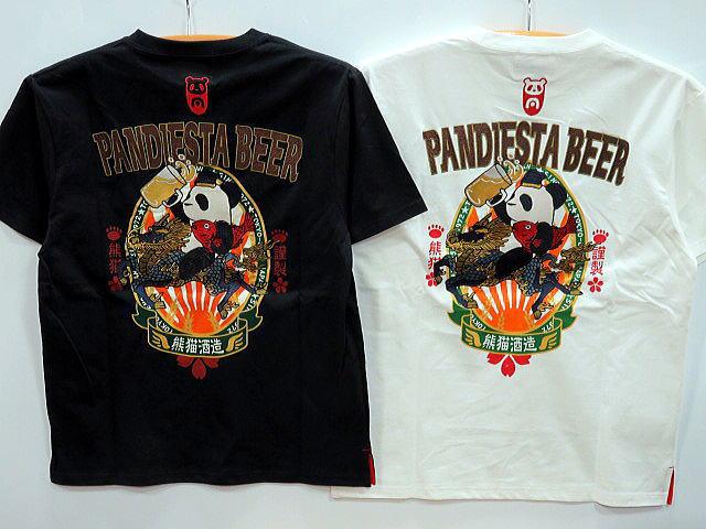 PANDIESTA JAPAN 半袖Tシャツ 熊猫麦酒2 パンディエスタ
