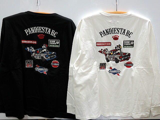 【大きいサイズ】PANDIESTA JAPAN 長袖Tシャツ PD-Rレーシング ハコスカパンディエスタ