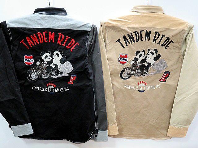 PANDIESTA JAPAN タンデムライド クレイジーツイルシャツ パンディエスタ