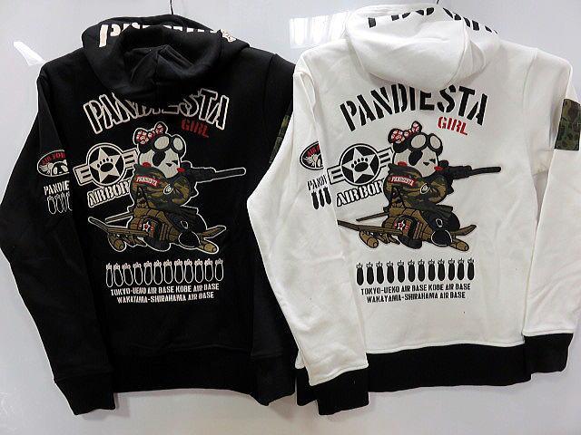 PANDIESTAJAPAN PDJ-GIRL2 ZIPパーカー パンディエスタ