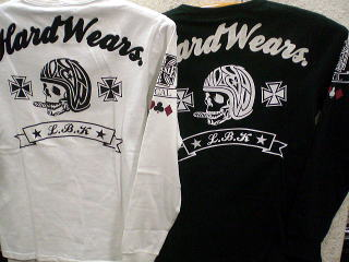 LOW BLOW KNUCKLE  長袖Tシャツ メットスカル【コンビニ受取対応商品】