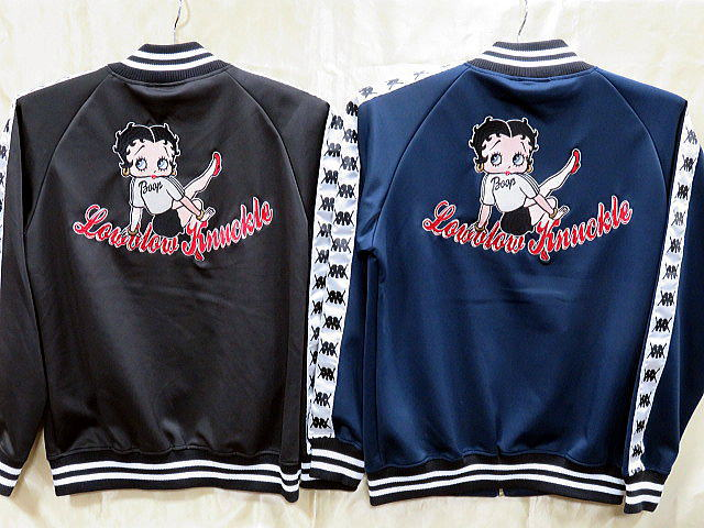 LOWBLOW KNUCKLE X BETTY BOOP  BOOP SPORTSジャージ