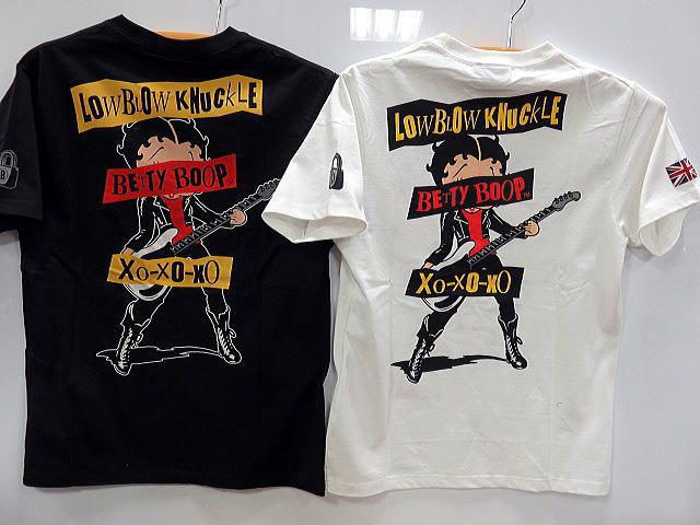 LOWBLOW KNUCKLE X BETTY BOOP UKガール ベティー ローブローナックル