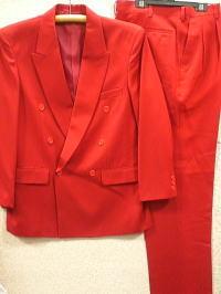 カラースーツ 赤