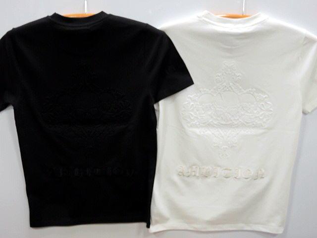 大きいサイズ Be Ambition 半袖Tシャツ スカルエンボス ロゴ刺繍 ビーアンビション