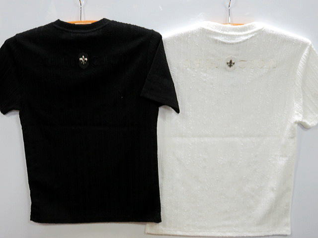大きいサイズ Be Ambition 半袖Tシャツ 百合ワッペン ロゴ刺繍 ビーアンビション