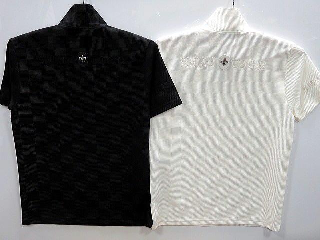 大きいサイズ Be Ambition 半袖Tシャツ ジップアップ 百合ワッペン&ロゴ刺繍 ビーアンビション