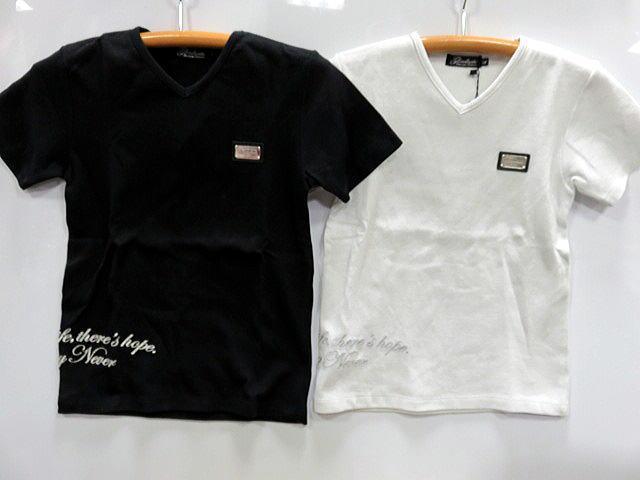 GLADIATE -グラディエイト- Vネック半袖ラメTシャツ