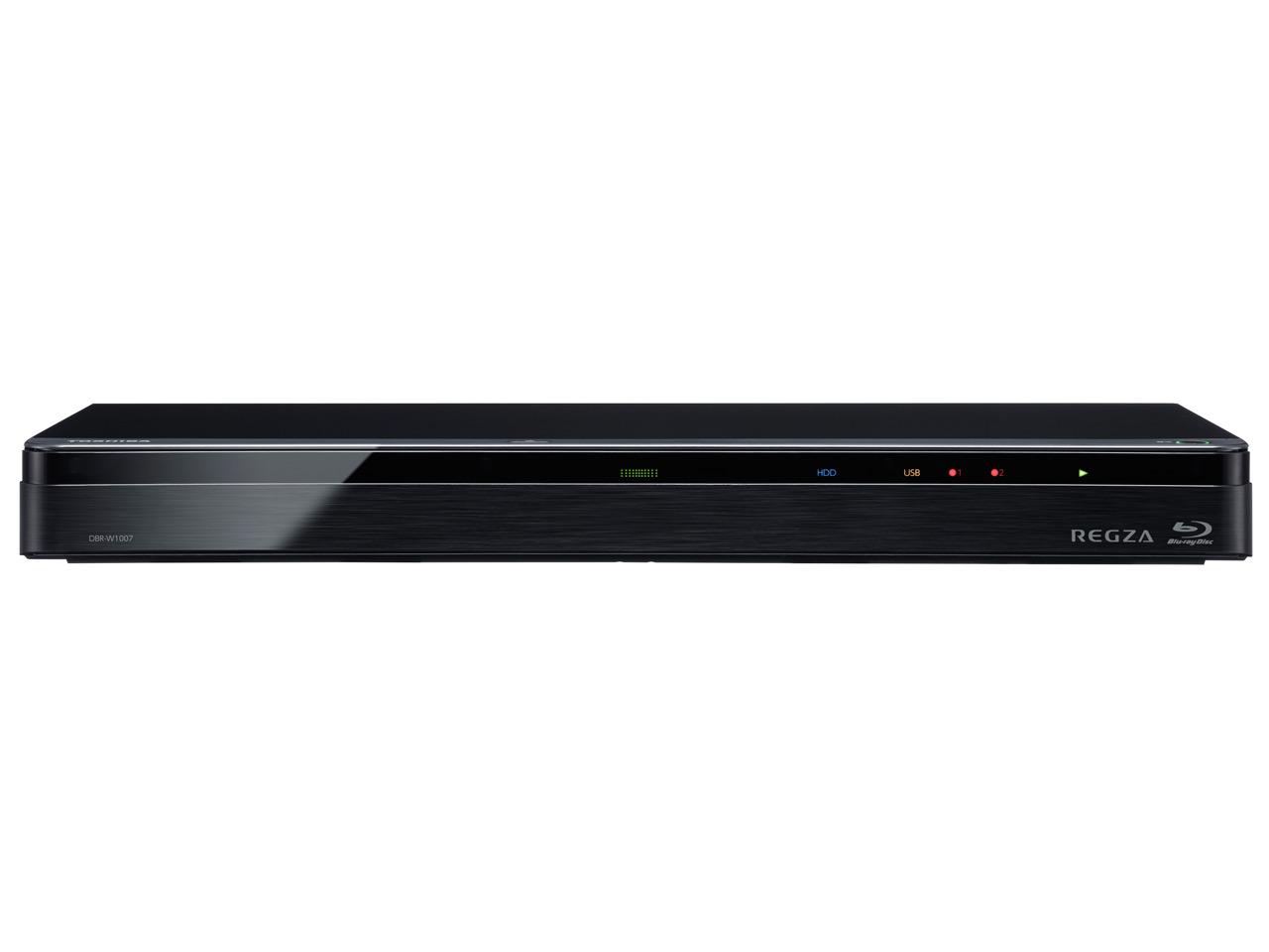 新品送料無料 東芝 1TB HDD 2チューナー搭載3D対応ブルーレイレコーダーTOSHIBA REGZA レグザブルーレイ DBR W1007Pk08nwO