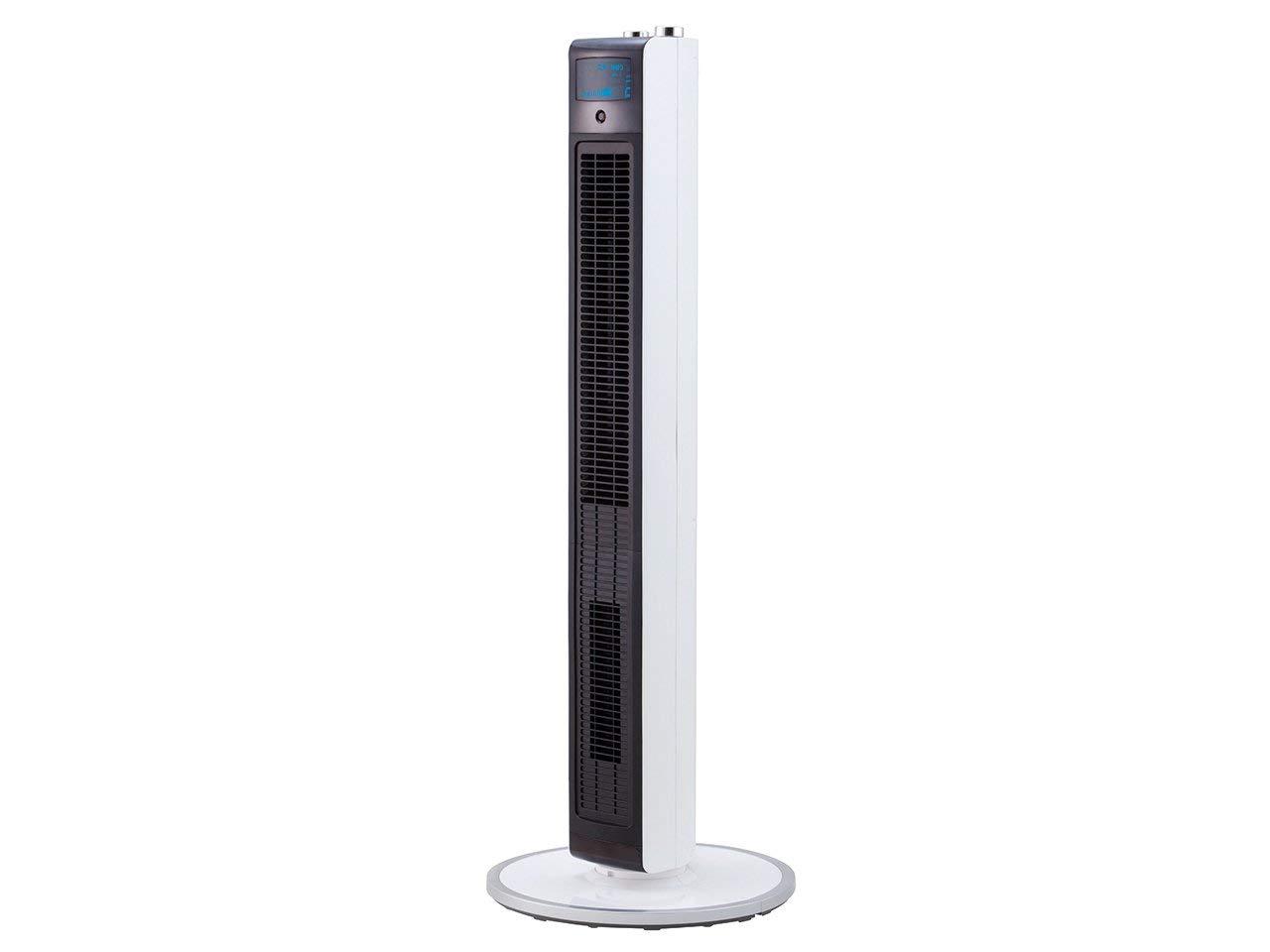 【新品】【送料無料】コイズミ 扇風機 ホット&クール ハイタワーファン ホワイト KHF-1281/W 【大型家電-代引不可-キャセル不可-返品不可】