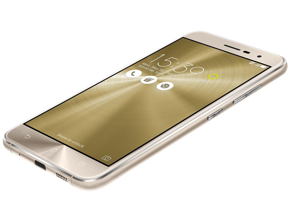 【新品】【送料無料】ZenFone 3 (Qualcomm Snapdragon 625/メモリ3GB/ストレージ32GB) クリスタルゴールド ZE520KL-GD32S3 SIMフリー