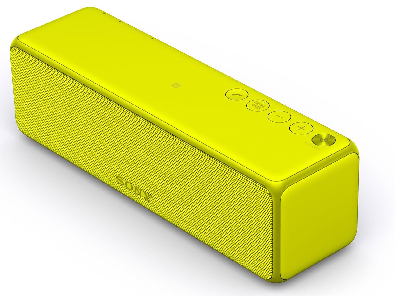 SONY ハイレゾ対応 ワイヤレスポータブルスピーカー SRS-HG1(Y) 【新品】【送料無料】