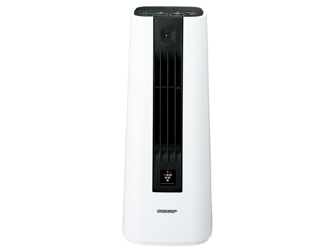 シャープ プラズマクラスター セラミックファンヒーター ホワイト HX-JS1-W 【新品】【送料無料】