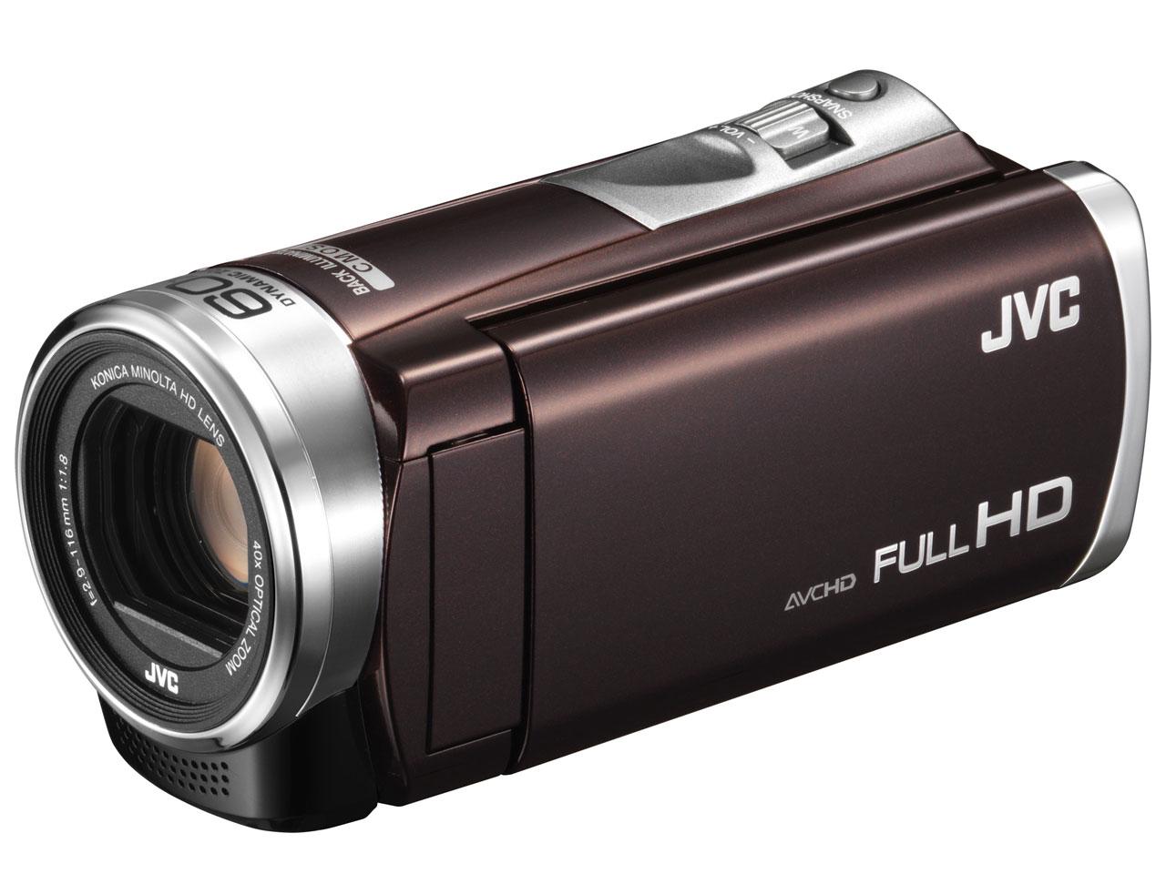 JVC ビデオカメラ Everio 32GB ダイナミック60倍/光学40倍ズーム GZ-E400-T (ブラウン) 【新品】【送料無料】