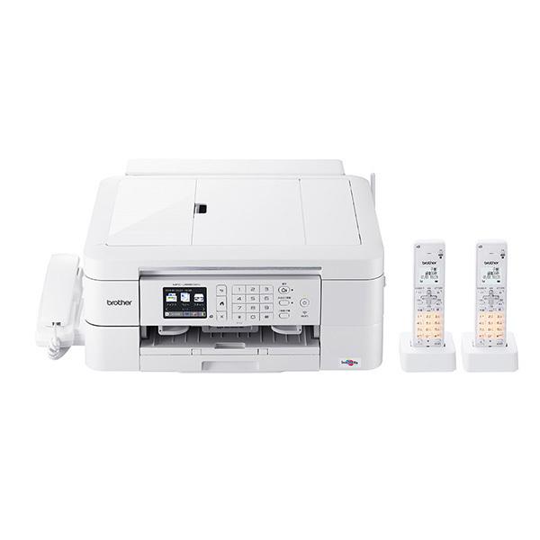 ブラザー プリンター A4 インクジェット複合機 MFC-J998DWN FAX/電話機 子機2台付き/有線・無線LAN 両面印刷/ADF