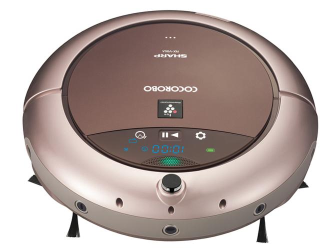 【新品】【送料無料】シャープ ロボット掃除機 ココロボ COCOROBO プラズマクラスター搭載 ハイグレードモデル ゴールド RX-V95A-N