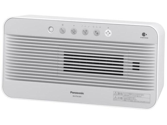 【新品】【送料無料】パナソニック セラミックファンヒーター ひとセンサー付(ナノイーあり) ホワイト DS-FTX1201-W(加湿機能無し)